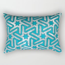Aynadamar white Rectangular Pillow