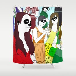 Formal Ladies Shower Curtain