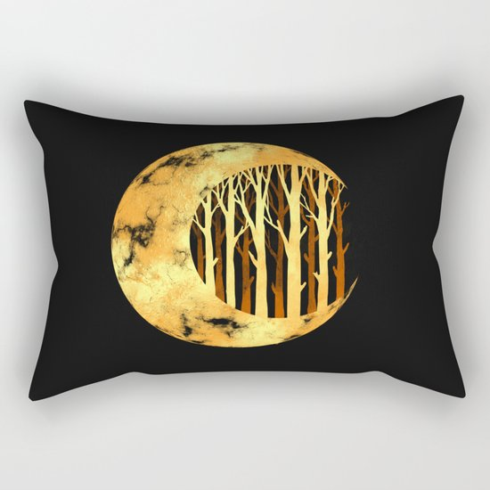 Nature moon Rectangular Pillow