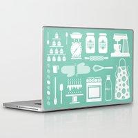 baking Laptop & iPad Skins featuring Baking Graphic by Modart Design