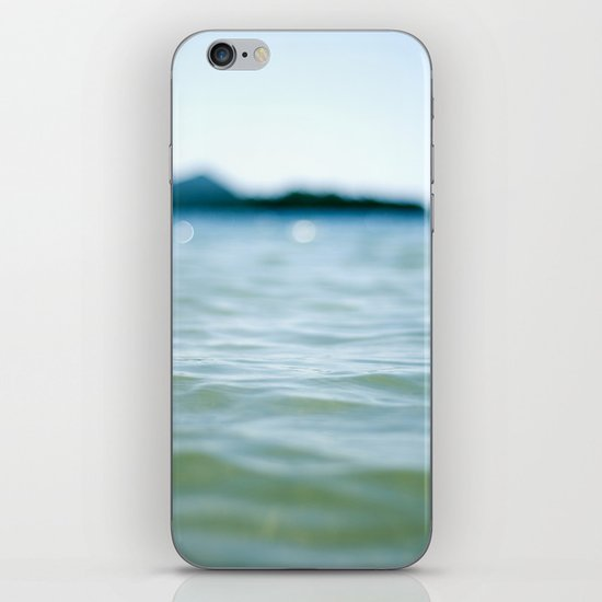 Wave Bokeh The Deep End iPhone & iPod Skin