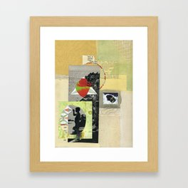 I Get Excited When I See Bees Now. Framed Art Print