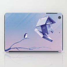 Freezing Bird...house iPad Case