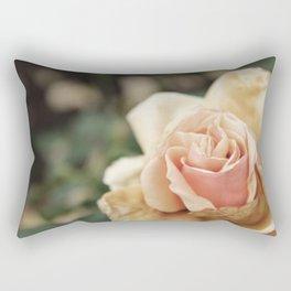 Delicate Rose Rectangular Pillow
