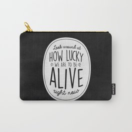 Look Around, Look Around Carry-All Pouch