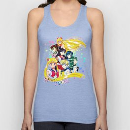 In The Space Unisex Tank Top