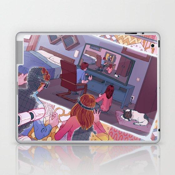 Virtual simulation Laptop & iPad Skin