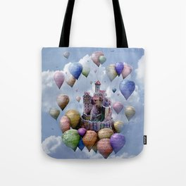 Sweet Castle Tote Bag