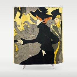 Toulouse Lautrec Divan Japonais music hall Shower Curtain