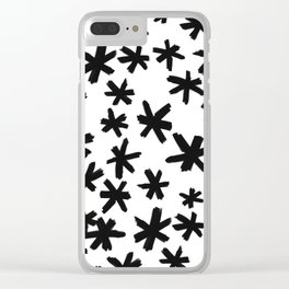 Secret Buttholes - WHITE Clear iPhone Case