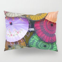 Umbrella Color Pillow Sham