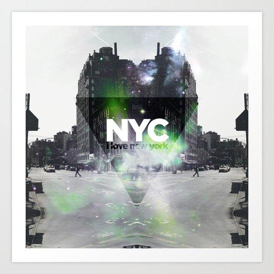 NYC - I Love New York 2 Art Print
