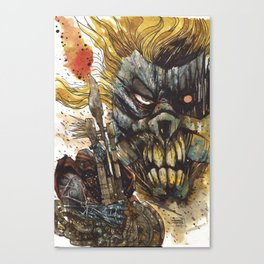 Cardoselli Stefano for Mad Max Fury Draw Canvas Print