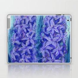 Hyacinths, violet version Laptop & iPad Skin