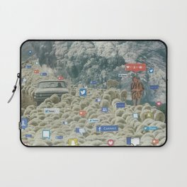 Counting Tweets Laptop Sleeve