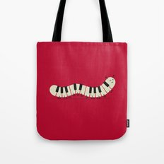 Caterpiano Tote Bag