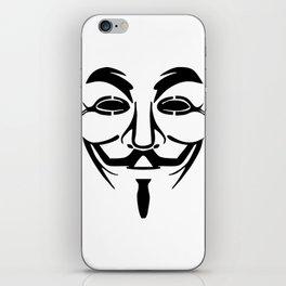 Anonymous Vendetta iPhone Skin