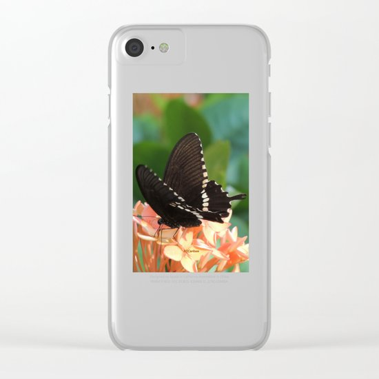 Kowloon Wings Clear iPhone Case