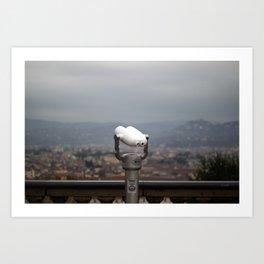 Viewpoint. Florence. Art Print