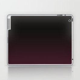 Faded Background, Burgundy, Color Change Laptop & iPad Skin