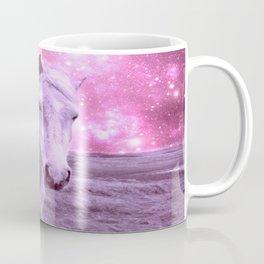 Pink Horse Celestial Dreams Coffee Mug