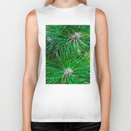 Pine tree needles Biker Tank