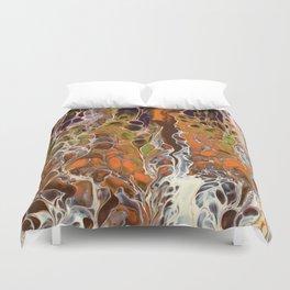 Autumnal ferns Duvet Cover