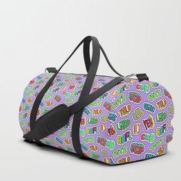 Patch pattern #3 Duffle Bag