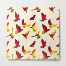 Flying pigeons Metal Print