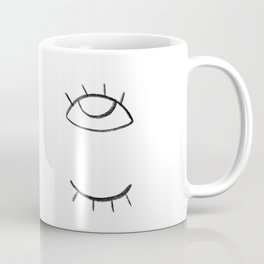 don't blink or you'll miss it Coffee Mug