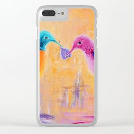Lover | Amoureux Clear iPhone Case