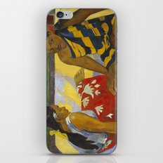 Parau Api / What's news? by Paul Gauguin iPhone Skin