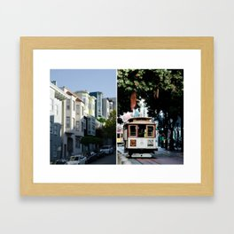SF Dream Framed Art Print