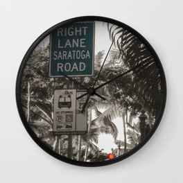 Home from Home Wall Clock