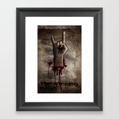 The Rocking Dead Framed Art Print