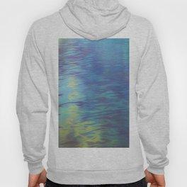 Mountain Lake Water Art Hoody