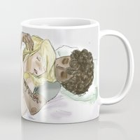 les mis Mugs featuring Sleeping pRouvaire Les Mis by Pruoviare