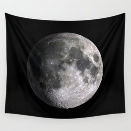 The Full Moon Super Detailed HD Print Wall Tapestry