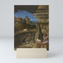 Giovanni Bellini - Saint Jerome Reading Mini Art Print