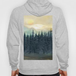 Forest Under the Sunset II Hoody