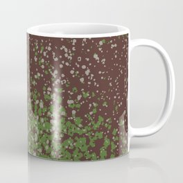 Brown Splatter Print Coffee Mug