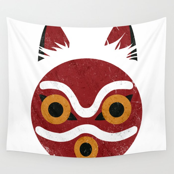 Princess Mask Wall Tapestry