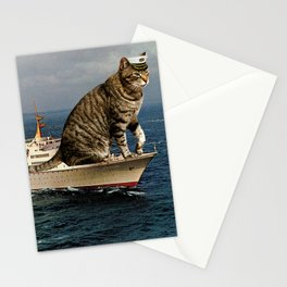 The Catptain Stationery Cards