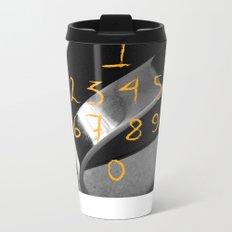 Counting… Metal Travel Mug