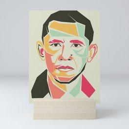 Barack Obama Mini Art Print