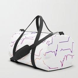 Fish tracks Duffle Bag
