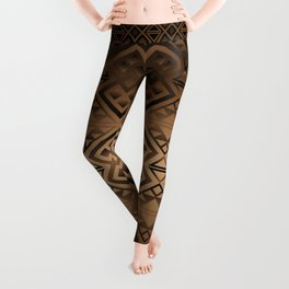 The Lodge (Brown) Leggings