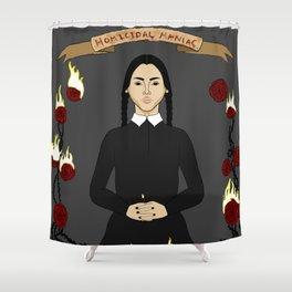 Wednesday Addams Shower Curtain