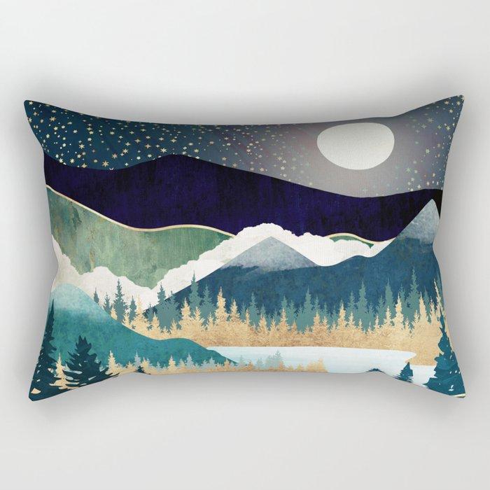 Star Lake Rectangular Pillow