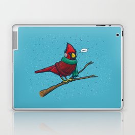 Annoyed IL Birds: The Cardinal Laptop & iPad Skin